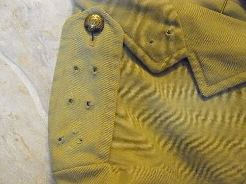 Canadian Tropical Worsted , Khaki Drill jacket or British Tropical ?