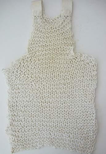 British issue string vest