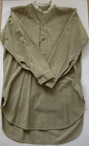 Click image for larger version.  Name:British Other Ranks collorless wool angola shirt 006.jpg Views:734 Size:215.7 KB ID:418623
