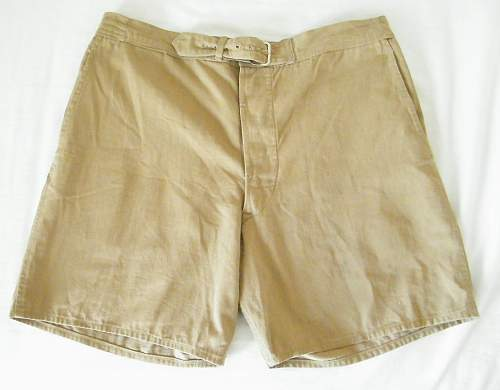 British tropical shorts