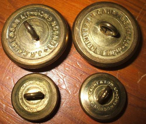 Edward VIII Uniform buttons Royal Engineers