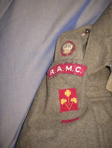 Researchable 8th Indian Division RAMC Major BD blouse, MC recipient