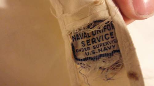 2 U.S. White Uniforms Lots of Questions