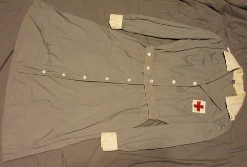 U.S. Womens Red Cross Unifrom