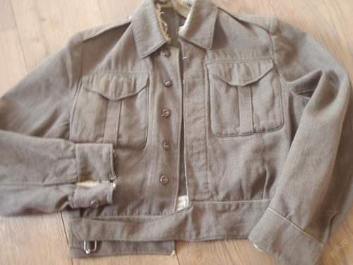 US made Battledress Blouse Pattern 1937 (serge)?