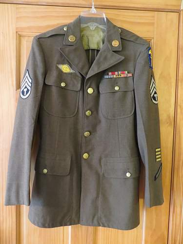 US Army Amphibious force uniform