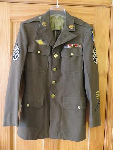 US Army Amphibious force uniform
