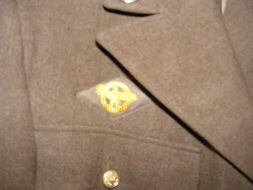 US WWII Dress Green