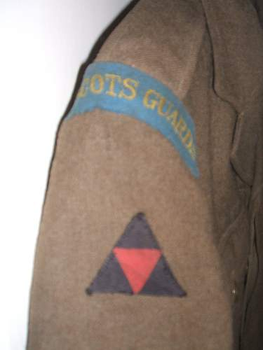 Scots Guards BD 3rd Division