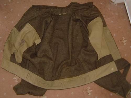 Canadian battle dress tunic?
