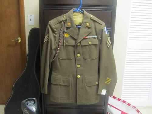 Named 3rd Infantry Division Service Jacket