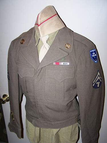 US 79th Infantry Division Ike jacket