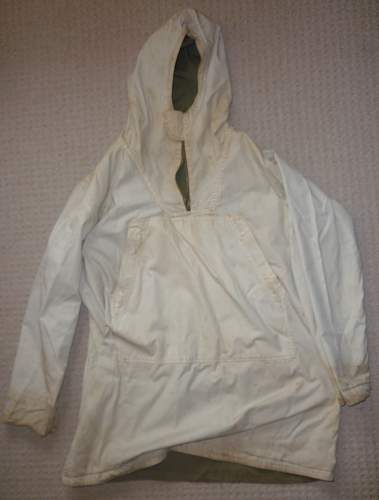 WW2 US Parka, reversible, ski and trousers, field, overwhite