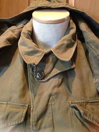 ww2 US M1943 pattern Field jacket