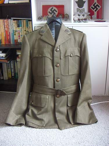 Click image for larger version.  Name:WW2 Australian Officer Tunic Ord. Corps 2nd Lt. 1.jpg Views:665 Size:248.2 KB ID:453512