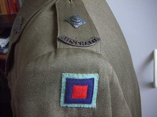 Australian Ordnance Officer Tunic