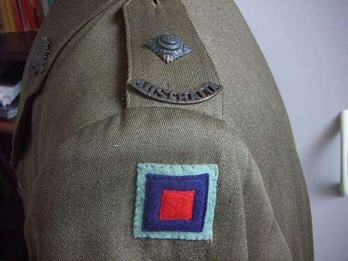 Click image for larger version.  Name:WW2 Australian Officer Tunic Ord. Corps 2nd Lt. 4.jpg Views:855 Size:299.5 KB ID:453516