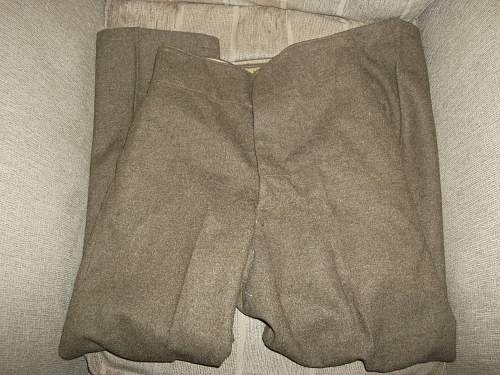Trousers to ID