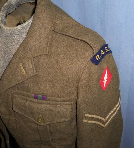 WW2 British Ike Jacket info please?