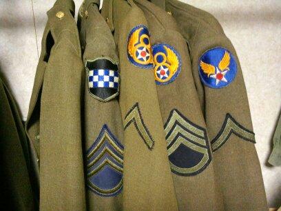 US usaf tunic