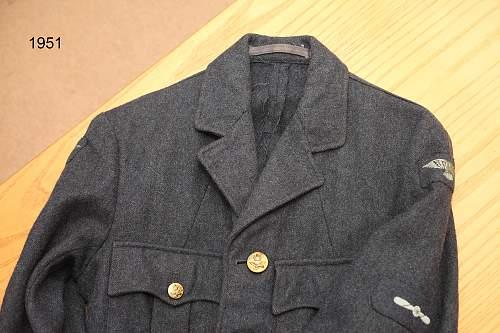 RAF Leading Aircraftman Uniform
