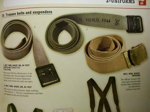 WW2 AAF belt and buckle ?