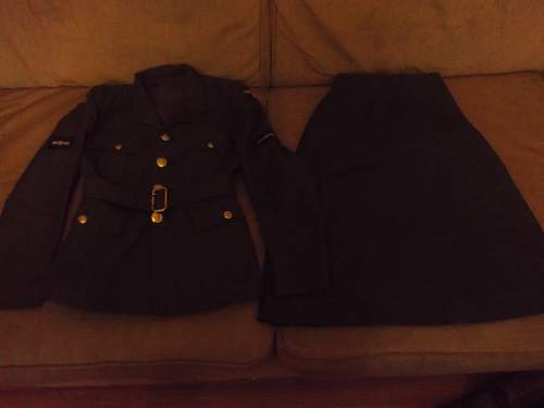 New Uniforms inc WAAF