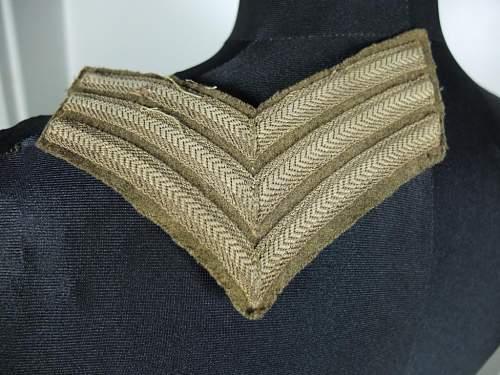 need help to identify a battledress