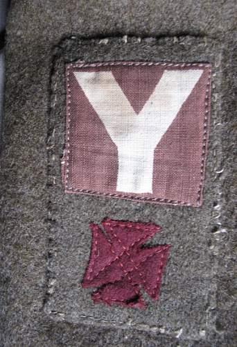 Wiltshire Regiment, 5th British Division US Aid Battle Dress Blouse