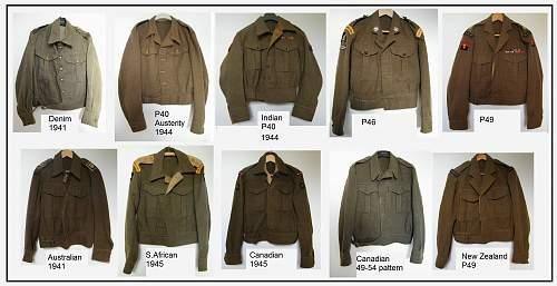 40 pattern austerity BD blouse