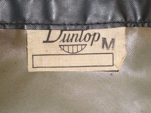 Dispatch Riders Rubberised Uniform Aust 42