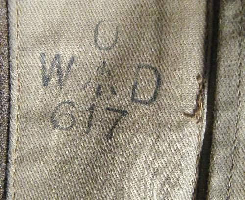 MC winners 40 pattern BD pre austerity version 1942