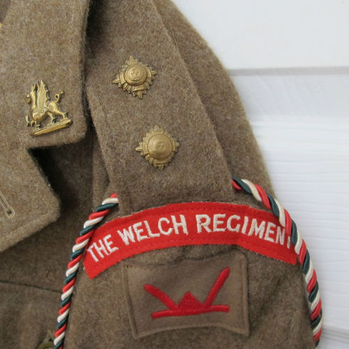 Welch regiment Welsh div BD & trousers