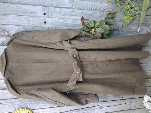 French greatcoat, is it WW2