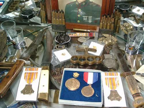 Grandpa's WWII stuff...