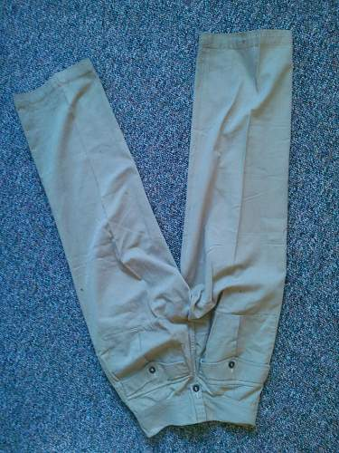 Australian \ British BD Trousers