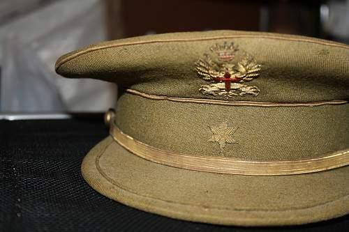 spanish civil war officer hat
