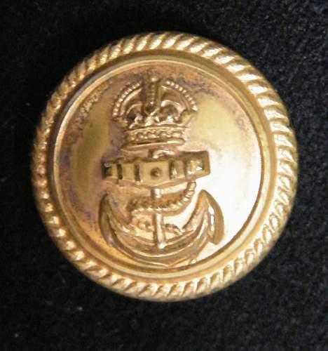 Royal Navy Reserve officers uniform group