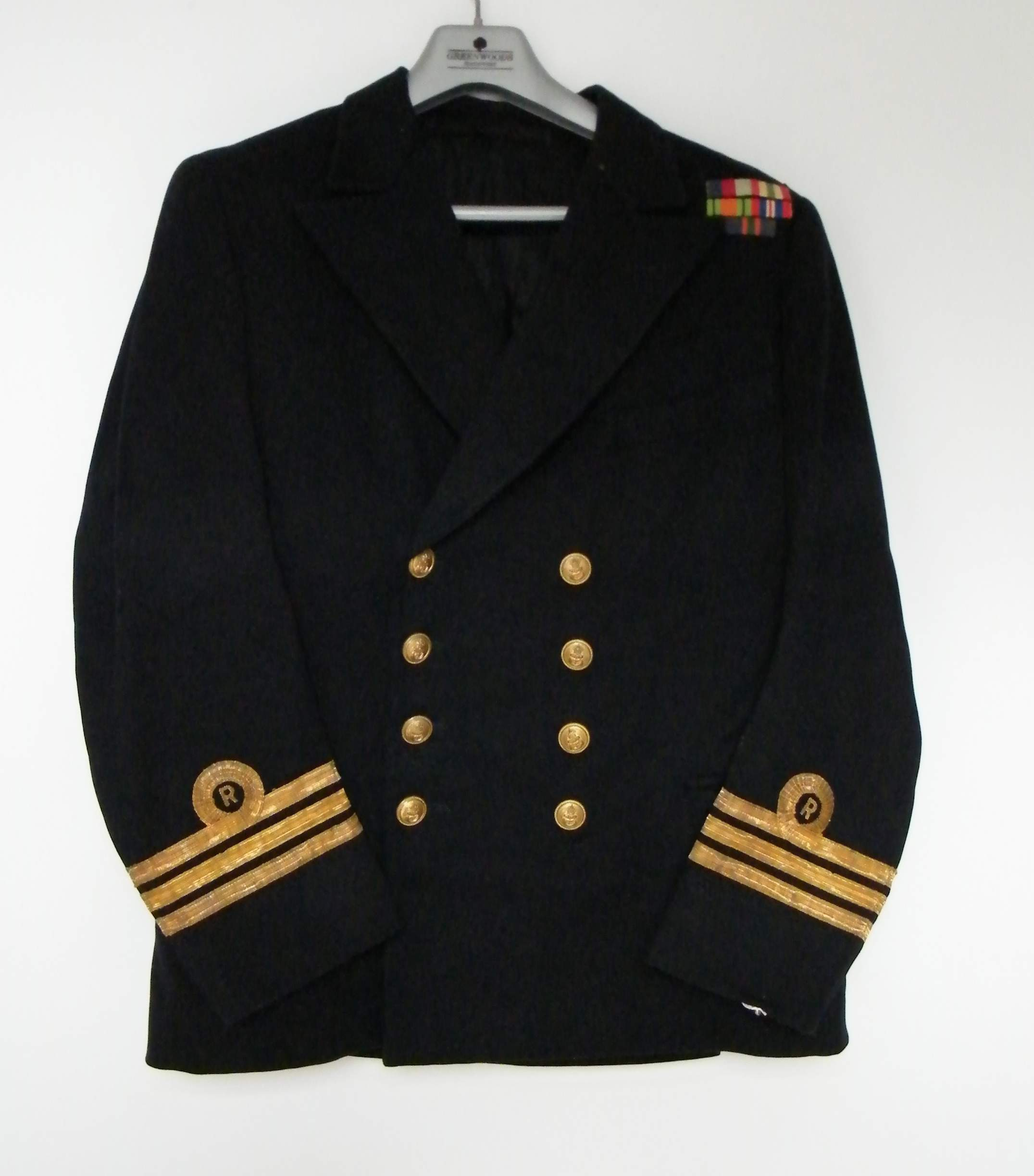 Royal Navy Reserve officers uniform group