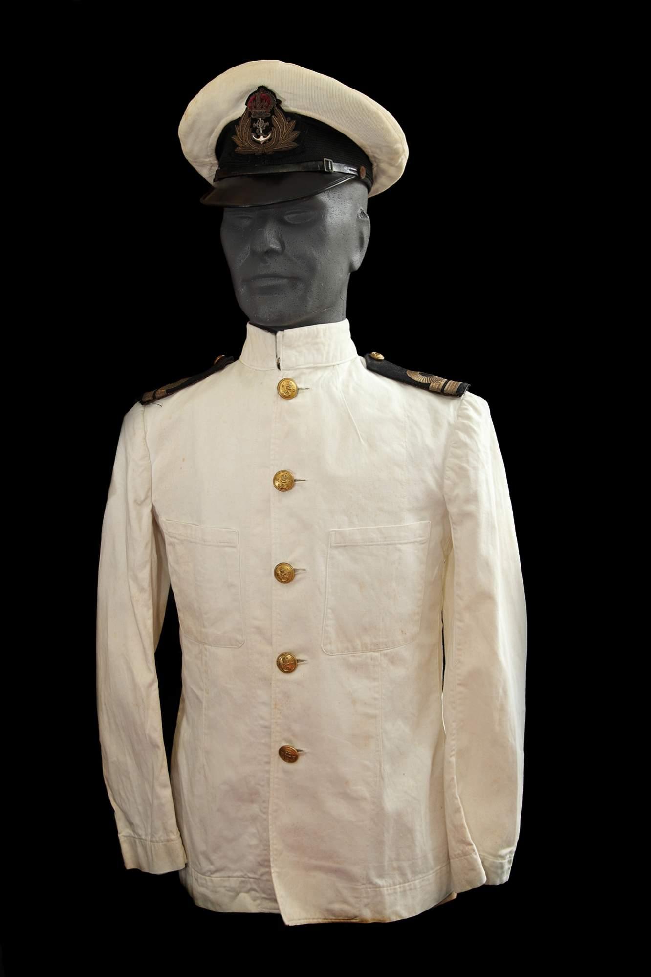Royal navy white dress uniform