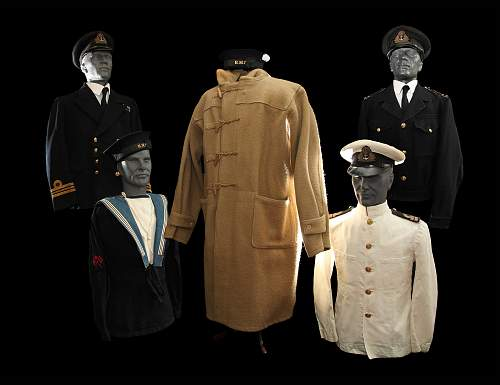 Some Royal Navy Uniforms