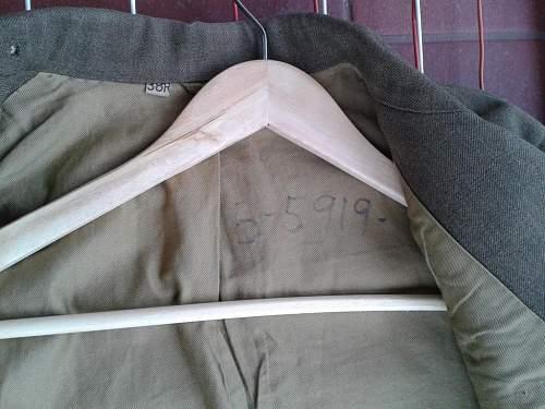 Jacket US Army WW2  ?