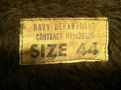 U.S. Navy Rubberized Watchman's Jacket