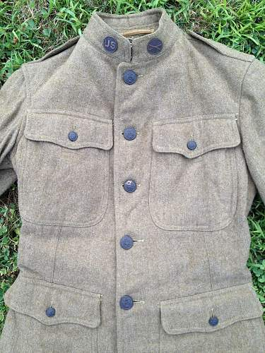World War I U.S. Field Jacket for Review