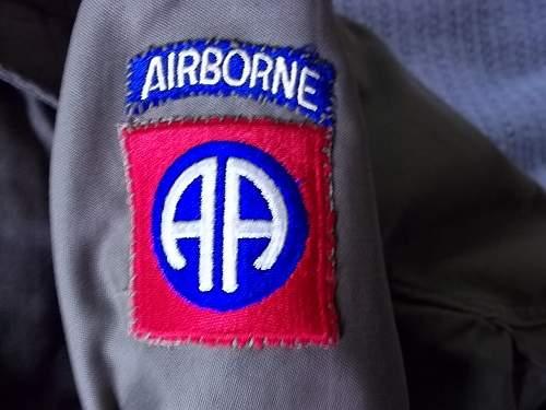 m43 Field Jacket Airborne