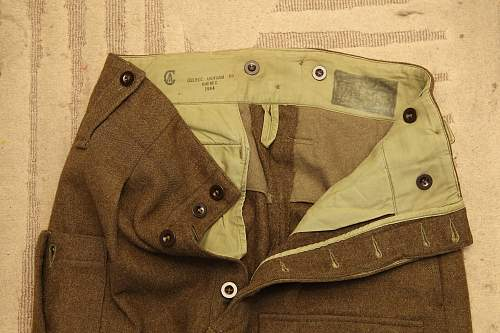 Help with Canadian BD trousers
