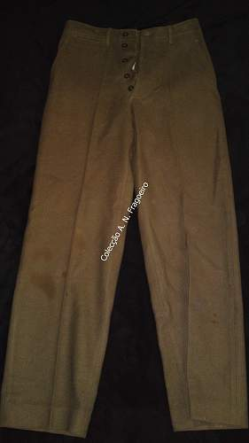 US Army OD trousers