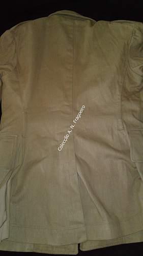 British tropical tunic