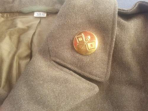3rd and 6th  Armored Division Ike jacket.