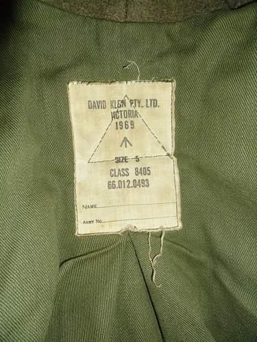 Vietnam era Australian greatcoat